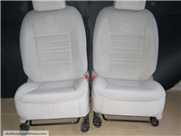 toyota corolla 2012 front double seat cover fabric -22